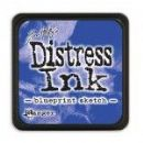 Tim Holtz® Distress Mini Ink Pad from Ranger - Blueprint Sketch